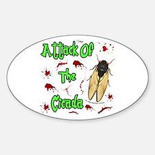 Attack Of Cicada Decal