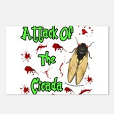 Attack Of Cicada Postcards (Package of 8)
