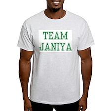 TEAM JANIYA  Ash Grey T-Shirt