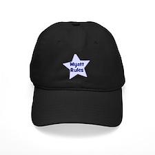 Wyatt Rules Baseball Hat