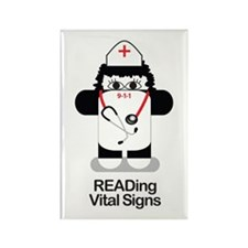 Nurse 911 Rectangle Magnet (10 pack)