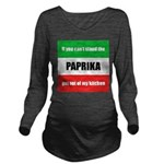 paprika-hungary.png Long Sleeve Maternity T-Shirt
