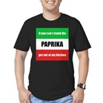 paprika-hungary.png Men's Fitted T-Shirt (dark)