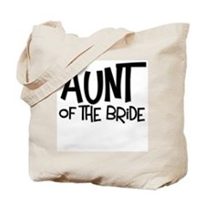 Hipster Aunt of Bride: Coal Tote Bag