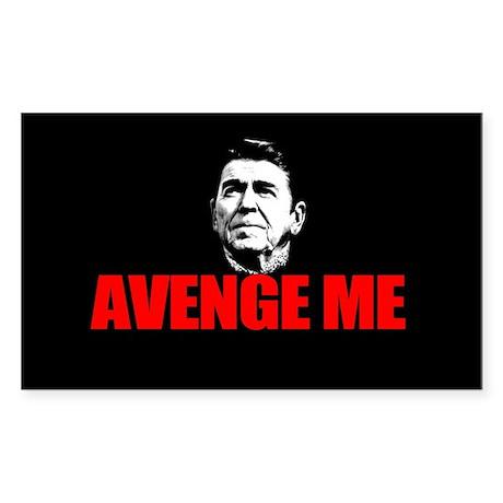 Reagan - Avenge Me Sticker