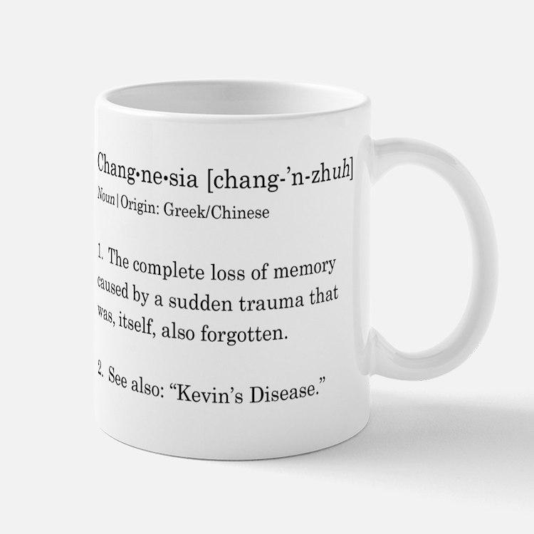Changnesia in Black Small Mugs