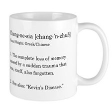 Changnesia in Black Small Mugs