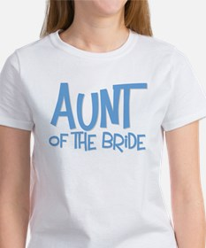 Hipster Aunt of Bride: Blue Women's T-Shirt