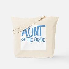 Hipster Aunt of Bride: Blue Tote Bag