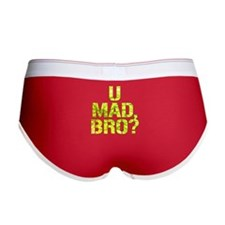 U Mad, Bro? Women's Boy Brief