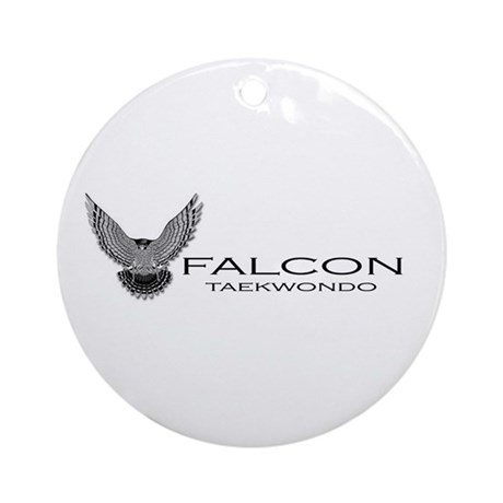 Falcon TKD Ornament (Round)
