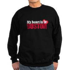 My heart is in Boston Sweatshirt