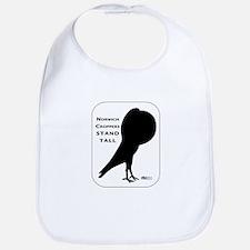Norwich Cropper Pigeon Bib