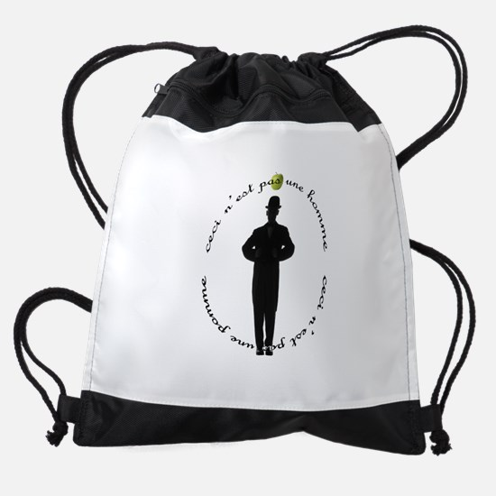 FIN-pas-homme-pomme.png Drawstring Bag