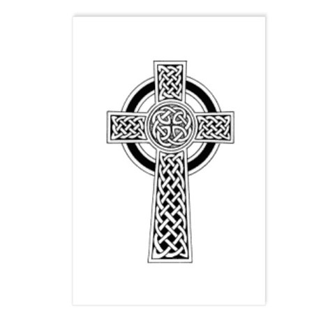 Celtic Cross 1 Postcards (Package of 8)