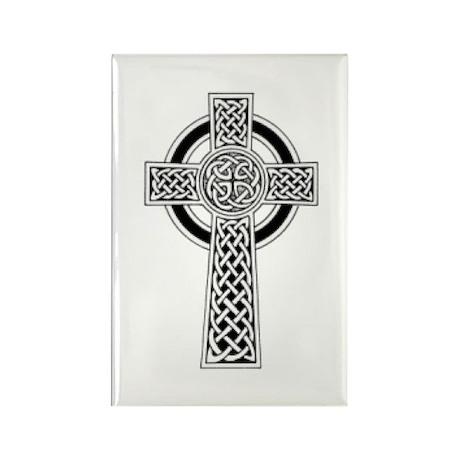 Celtic Cross 1 Rectangle Magnet (10 pack)