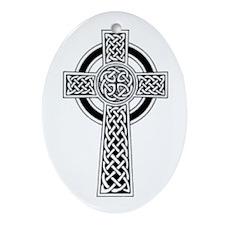 Celtic Cross 1 Oval Ornament