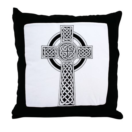 Celtic Cross 1 Throw Pillow