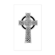 Celtic Cross 1 Rectangle Decal
