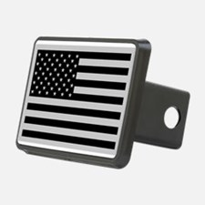 Subdued US Flag Tactical Rectangular Hitch Cover