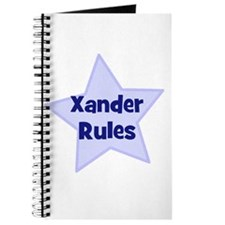 Xander Rules Journal