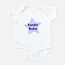Xander Rules Infant Bodysuit