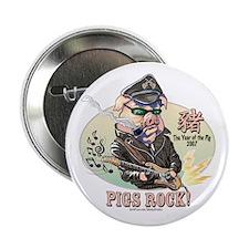 Pigs Rock 2007 Button