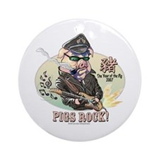 Pigs Rock 2007 Ornament (Round)