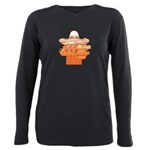 FIN-mexican-food.png Plus Size Long Sleeve Tee
