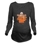 FIN-mexican-food.png Long Sleeve Maternity T-Shirt