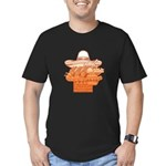 FIN-mexican-food.png Men's Fitted T-Shirt (dark)