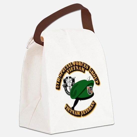 SOF - 5th SFG Dagger - DUI Canvas Lunch Bag