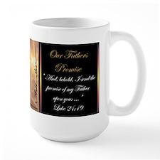 """Our Fathers Promise"" Fine Art Mug"