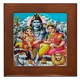 Ganesh Framed Tiles
