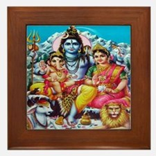 Tranquil Family Framed Tile