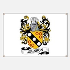 Johnson Coat of Arms Banner