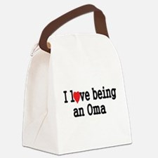 I love being an oma Canvas Lunch Bag