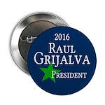 Vote Raul Grijalva for President in 2016 Pin
