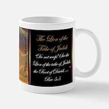 """""""The Lion of Judah"""" Fine Art Christian Mug"""