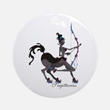 Starlight Sagittarius Ornament (Round)