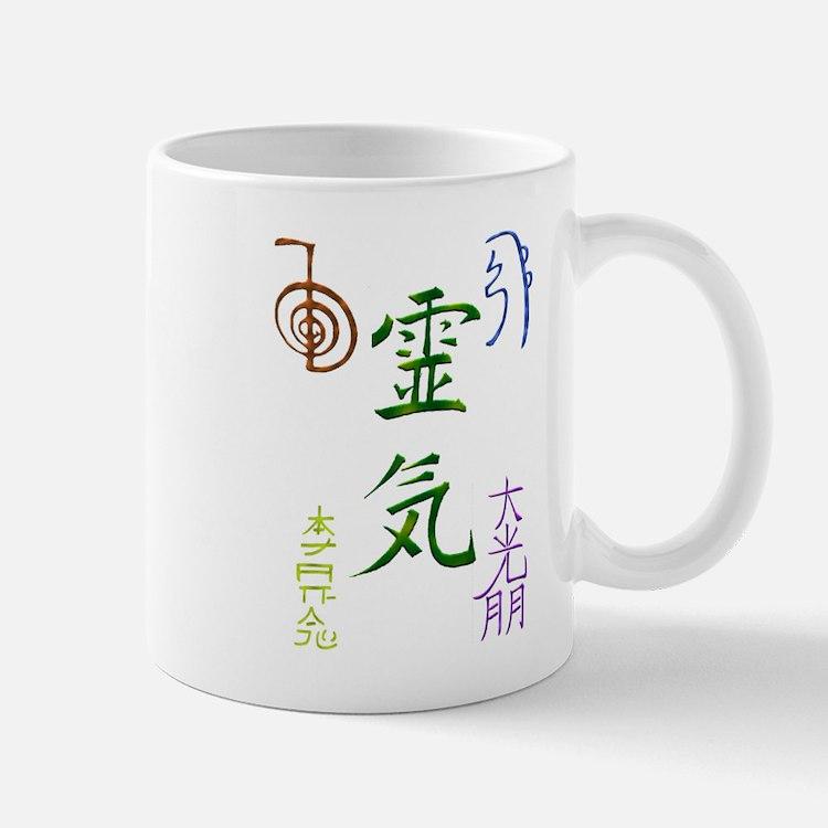 Reiki Symbols Mugs