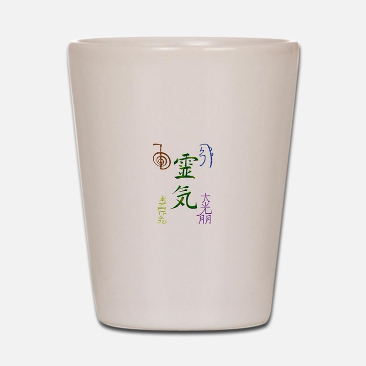 Cute Reiki Shot Glass