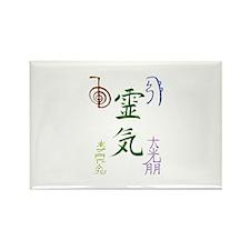 Cute Reiki symbols Rectangle Magnet