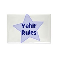Yahir Rules Rectangle Magnet (10 pack)