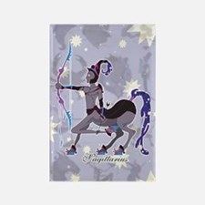 Starlight Sagittarius Rectangle Magnet