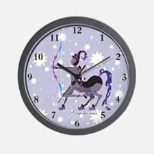 Starlight Sagittarius Wall Clock