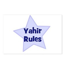 Yahir Rules Postcards (Package of 8)