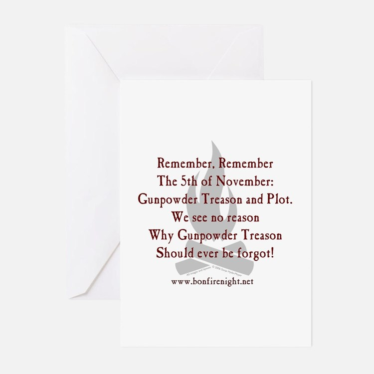 Remember Remember Greeting Cards (Pk of 10)