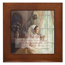 """""""The Bride of Christ"""" Keepsake Fine Framed Tile"""