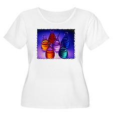Erlenmeyer Flasks Plus Size T-Shirt